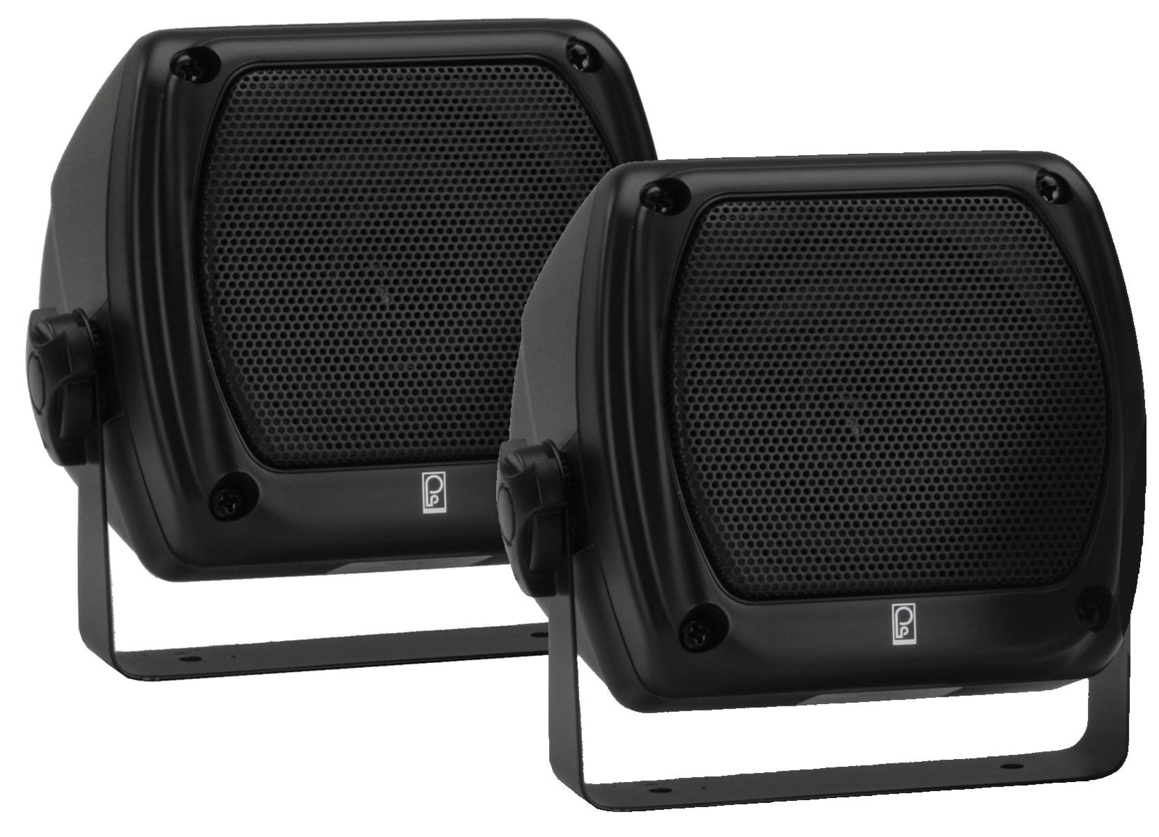 Poly Planar Compnent Box Speakers Pair White