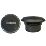 "Poly-Planar MA3013G Gray 3"" 60 Watt (pair) Waterproof Marine Speakers"