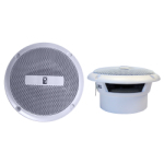 "Poly-Planar MA3013W  White 3"" 60 Watt (pair) Waterproof Marine Speakers"