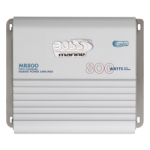 Boss Audio MR800 800 Watt 2 Channel Marine Amplifier