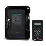 Aquatic AV AQ-DM-4B FM/iPod/MP3 Dock, With Waterproof RF Wireless Remote, Waterproof Marine Stereo
