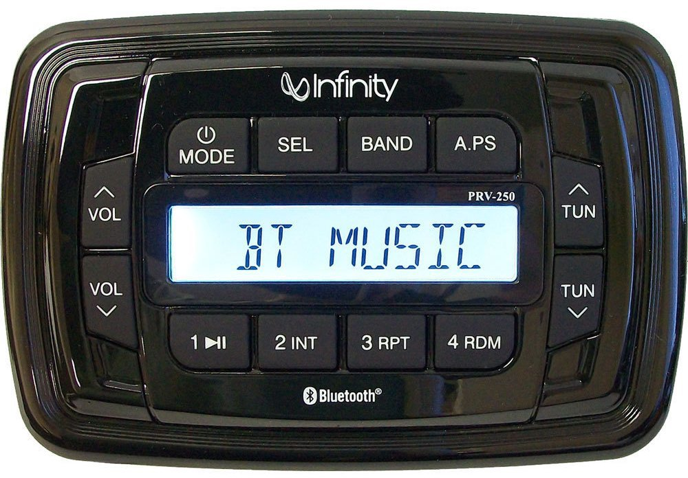 Get 2018s Best Deal On Infinity INFPRV250 Marine Stereo Rock The