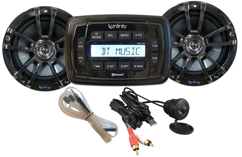 Get 2018 S Best Deal On Infinity Infmpk250 Marine Stereo