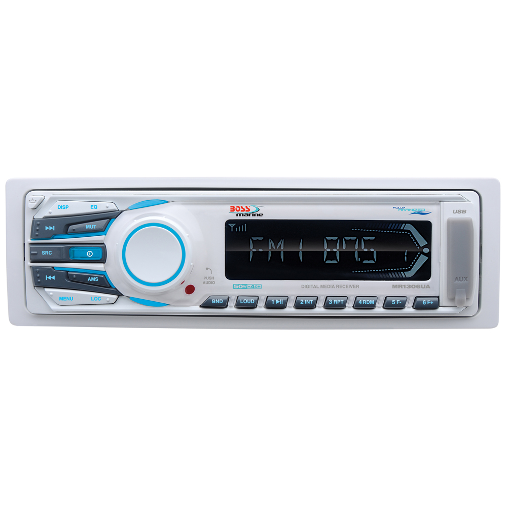 Get 2018s Best Deal On Boss Audio Mr1306ua Marine Stereo Rock The Player Circuit Board Pcb With Fm Radio View Mp3 Am Receiver Usb Port Sd Card Slot 200 Watt