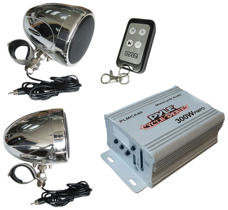 get 2018's best deal on pyle plmca40 marine stereo system rock the pyle marine amp wiring diagram pyle plmca40 fm mp3 usb port 100 watt motorcycle stereo system
