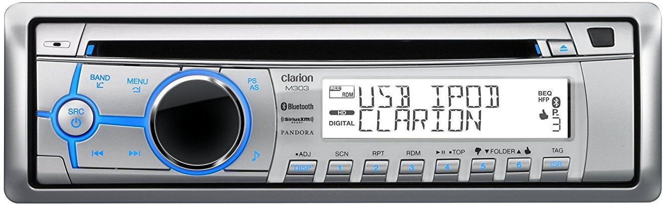 get 2018 s best deal on clarion m303 marine stereo rock the boat audio rh rocktheboatmarinestereo com Clarion NX702 Clarion VZ401