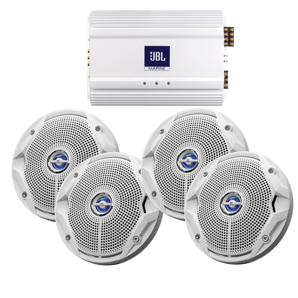 Get 2018 S Best Deal On Jbl Ms6520 X2 Ma6004 Marine Stereo