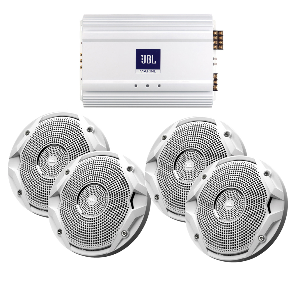 Get 2018 S Best Deal On Jbl Ms6510 X2 Ma6004 Marine Stereo