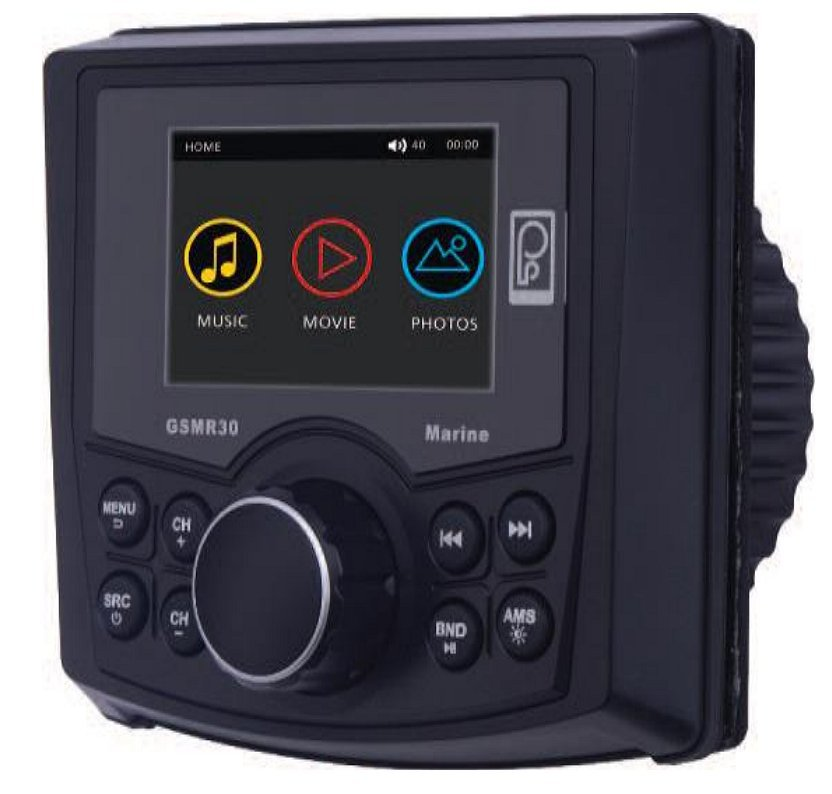 get 2019 s best deal on poly planar gsmr30 marine stereo