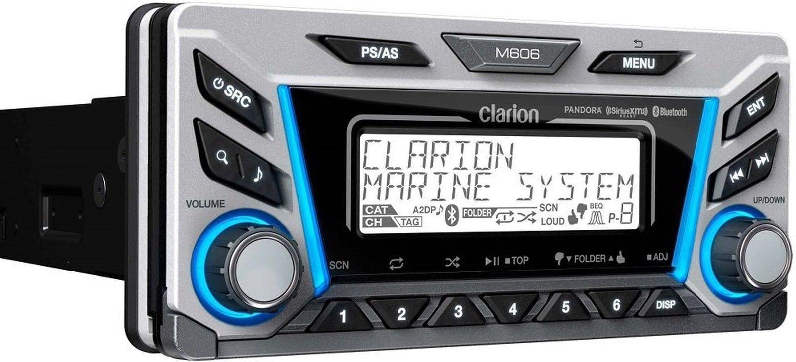 get 2018 s best deal on clarion m606 marine stereo rock the boat audio rh rocktheboatmarinestereo com Clarion MW1 Marine Radio