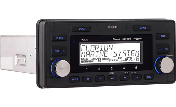 get 2018 s best deal on clarion m608 marine stereo rock the boat audio rh rocktheboatmarinestereo com Clarion VZ401 Clarion CMD6